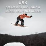 365 things to do with money from Kite Loans - Get lessons for a unique new sport this winter! #loan #fastloan #quickcash #snowboarding #winter #ski #skiing #snow