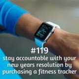 365 things to do with money from Kite Loans - stay accountable with your New Years resolution by purchasing a fitness tracker #loan #fastloan #quickcash #finance #fitness #fitbit #gym #running #cardio