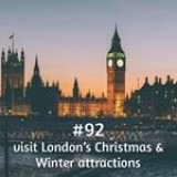 365 things to do with money from Kite Loans - It's December so visit London's #Winter and #Christmas attractions! #loan #fastloan #quickcash #winterwonderland #london #xmas