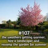 365 things to do with money from Kite Loans - the weathers getting warmer.. revamp the garden for summer #loan #fastloan #quickcash #finance #summer #garden #landscape #landscaper